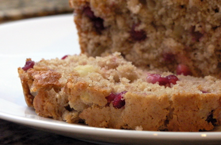 Apple-Pomegranate Spice Bread