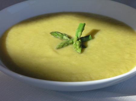 Potage Argenteuil (Asparagus Soup)