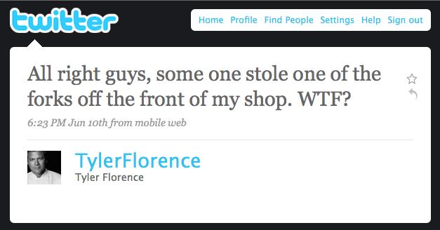 Tylers 1st Tweet