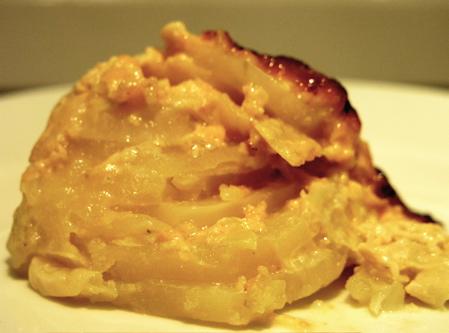 Dauphinois of Potatoes, Jerusalem Artichokes (Sunchokes) and Leeks ...