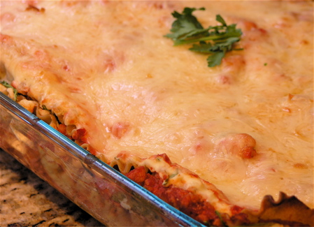 Turkey Lasagna with Whole Wheat Noodles