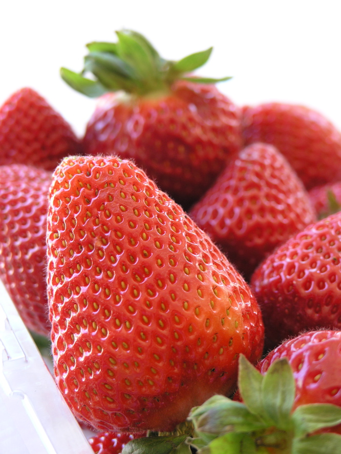 CA strawberries are in season