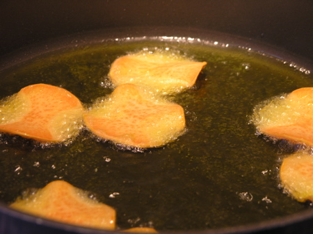 Frying in Olive Oil