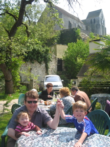 Lunch at the Brigandville - Rochefort-en-Yvelines