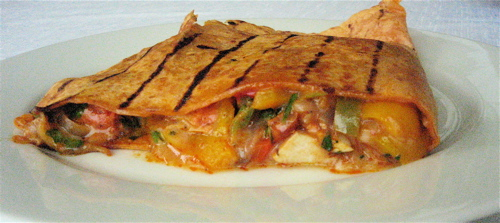 Whole Foods Chicken Quesadilla